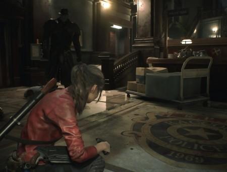 Resident Evil 2 Remake – Claire VS Mister X
