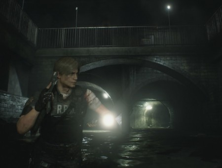 Resident Evil 2 Remake – Leon Kennedy égouts