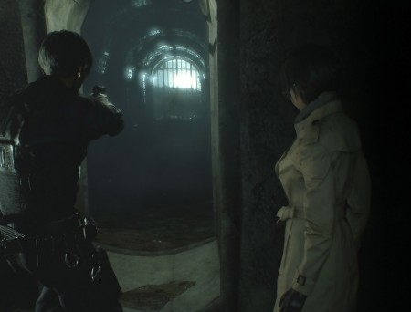Resident Evil 2 Remake – Leon et Ada dans les egouts