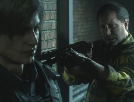 Resident Evil 2 Remake – Leon et Kendo