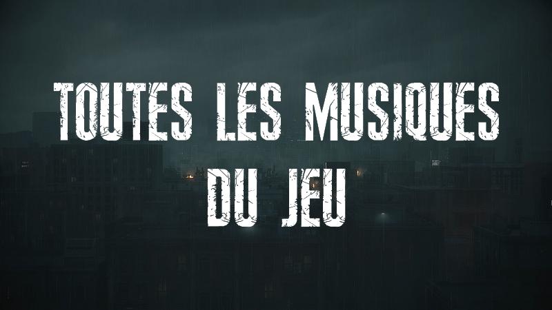 Resident Evil 2 Remake - Toutes les Musiques