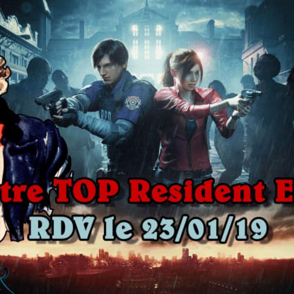 Resident Evil - Vos jeux préférés