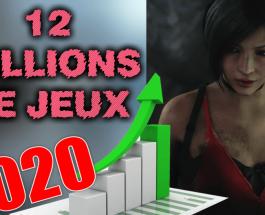 12 millions de jeux vendus en 2020