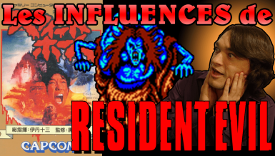 Les influences de Resident Evil – Sweet Home et le Manoir de l'Enfer
