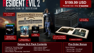 Resident Evil 2 Remake, édition Collector