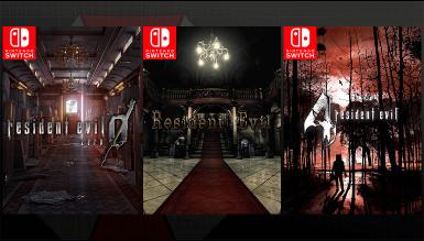 Resident Evil Switch, triple portage